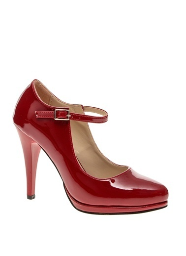 Limon Company Topuklu Ayakkabı Bordo